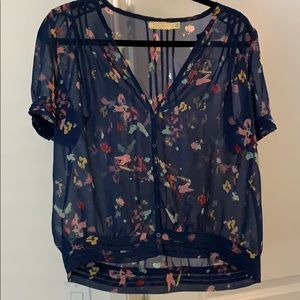 Urban Outfitters Sheer Blouse